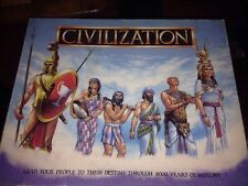 Civilization Gibsons Vintage Board Game - Complete - Good Condition