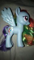 """My Little Pony Fashion Style Rainbow Dash G4 Brushable 6"""""""