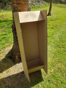 GUITAR SHIPPING BOX. BASS EXTRA LONG DOUBLE WALL 118x40x15cm