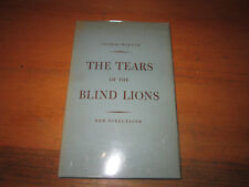 Thomas Merton TEARS OF THE BLIND LION New Directions First Edition in jacket!