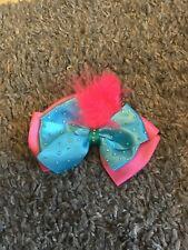 Troll Bow, Hair Clip Poppy