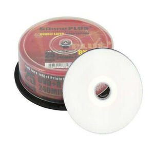 Aone DVD+R DL White Inkjet Printable Double Layer 8.5 GB 240 Mins