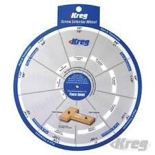 Kreg Jig Pocket Hole Screw Selector Wheel. - 663414