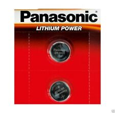 2 x Panasonic CR2032 3 v al litio moneta cella 2032 BATTERIA