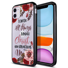 "For Apple iPhone 11 6.1"" 2019 Hybrid Hard Clear Back Case TPU Bumper Phone Cover"