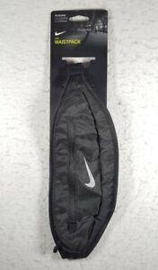 Nike Running Expandable Waistpack Black Unisex Fanny Pack Belt Bag Free Shipping