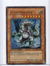 YU-GI-OH CYBER DINOSAUR (JUMP-EN024) ULTRA RARE HOLO PROMO CARD **UNPLAYED**
