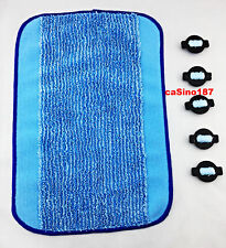 irobot Braava Mint 5 x Wicks + Cloth For Reservoir Pad 14576 380 5200 4200