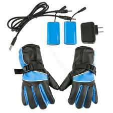 Motorcycle Work Gloves Hand Warmer Heated Electric 5200mAh Rechargeable Battery