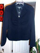 NWT Talbots Kate Fit Black Blazer, size 6P Retail $199 Very Rare Style New