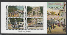 Gibraltar 2012 MNH Old Views II 4v Sheet Sand Hill Road Hargraves Barracks