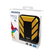 "ADATA DashDrive HD710 Waterproof USB 3.0 1TB 2.5"" External Hard Drive - Yellow"