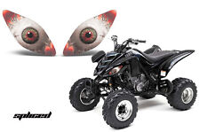 AMR RACING HEAD LIGHT GRAPHIC DECAL COVER YAMAHA RAPTOR 660 ATV PARTS - SPLICED