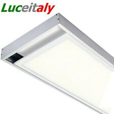 Cornice 120x30 FISSAGGIO PANNELLO LED parete soffitto staffe accessori plafonier