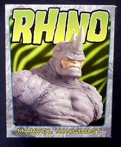 Rhino Bust Statue New 2001 Sealed Bowen Designs Spider-man Marvel Amricons WB