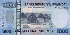 Ruanda / Rwanda 1.000 Francs 2008 Pick 35 (1)