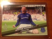 2017 Topps Now Wayne Rooney Card (1 of 77 Made) Everton England Soccer