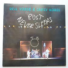 Neil YOUNG-Ruggine non dorme mai VINILE LP + INNER UK 1st PRESS EX +/EX +