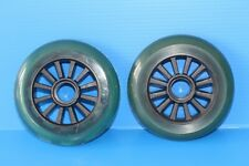Brand New Scooter wheels (PAIR) 2 X  100mm Plastic core Derailed