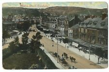 Caernarvonshire; Llandudno, Mostyn St PPC , c 1910
