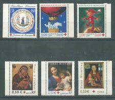 timbres neufs France Croix Rouge de carnets