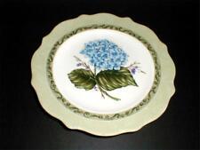 Princess House Exclusive VINTAGE GARDEN Dessert Salad Plate -Blue Hydrangea (2E)