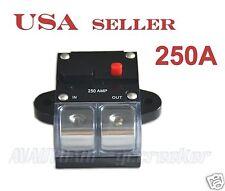 250amp APS 2/0 Gauge Car Audio Inline Power Circuit Breaker for 12V System CB8
