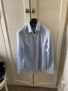 "Men's Hugo Boss 16.5"" Collar Shirt Size 42"