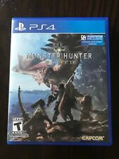 Monster Hunter: World (Sony PlayStation 4, 2018)