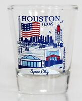 HOUSTON TEXAS GREAT AMERICAN CITIES COLLECTION SHOT GLASS SHOTGLASS