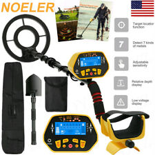 Ground Waterproof Metal Detector Gold Finder Lcd Display Shovel Search Coil-New