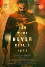 YOU WERE NEVER REALLY HERE 13.5x20 Original Promo Movie Poster Joaquin Phoenix