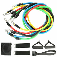11PCS Home Gym Equipment Workout Fitness Exercise Resistance Bands Set Pull Rope