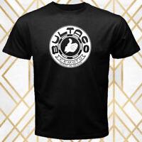 Bultaco Spain Motocycle Company Logo Men's Black T-Shirt Size S - 3XL