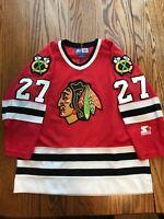 Jeremy Roenick - Chicago Blackhawks Vintage Jersey - YOUTH LARGE