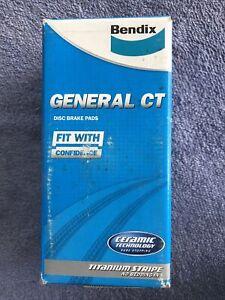 BENDIX General CT Brake Pads DB1757GCT suits Citroen Xsara Front Free Postage