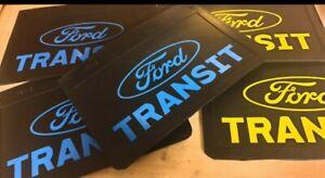 FORD TRANSIT MUD FLAPS X 2 SPLASH GUARD FLAT BED MK6 MK7 MK8 SINGLE / TWIN AXLE