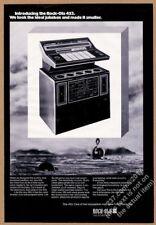 1974 Rock-Ola 453 jukebox photo vintage trade print ad
