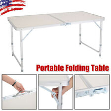 4FT Portable Folding Table Indoor Outdoor BBQ Picnic Party Dining Camping Tables