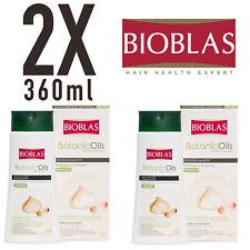 2x  Bioblas Knoblauch 360ml  Shampoo Geruchlos, Frauen und Männer (720ml)