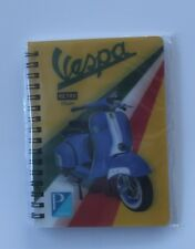Vespa Classic Scooter 3D picture on a Notebook, Ideal Christmas stocking filler