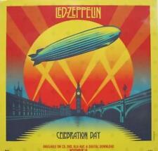 LED ZEPPELIN 2012 celebration day promo BIG static cling window sticker~NEW~!!