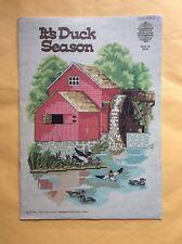 It's Duck Season Designs By Gloria & Pat Counted Thread Cross Stitch