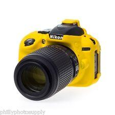 easyCover Armor Protective Skin for Nikon D5300 (Yellow) -> Bump Protection!