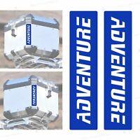 Adesivi Rifrangenti Blu compatibili con Touratech TOP CASE R 1200 1250 F GS