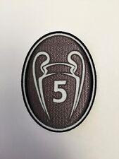 UEFA Champions League 5 CUP WINNER patch- FC Barcelona, Bayern Munich jerseys
