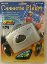 New Sealed Lenoxx Sound Model 820M Portable Stereo Cassette Player
