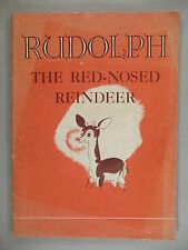 Rudolph, the Red-Nosed Reindeer - 1939 ~~ Montgomery Ward giveaway ~ 1st Edition