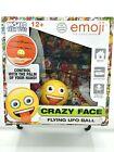 World Tech Toys Emoji Crazy Face Flying UFO Ball