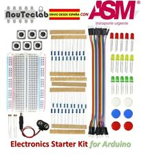 Electronics Starter Kit Breadboard LED Jumper Wire Button for Arduino UNO R3